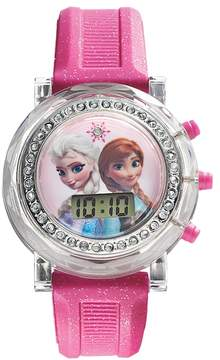 Disney Disney's Frozen Kids' Anna and Elsa Digital Light-Up Watch