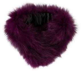 Adrienne Landau Fox & Rabbit Fur Stole