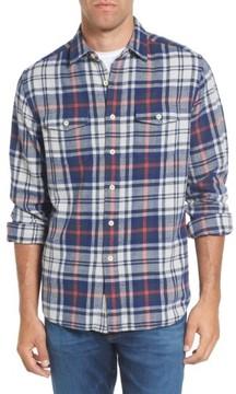 Grayers Men's Bisney Modern Fit Texture Flannel Sport Shirt