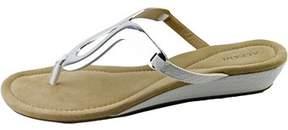 Alfani Womens Farynn Split Toe Casual Platform Sandals.
