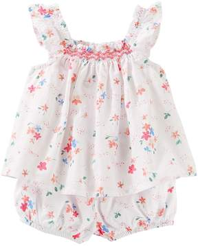 Osh Kosh Oshkosh Bgosh Baby Girl Floral Top with Bloomers