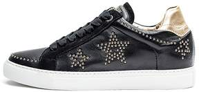 Zadig & Voltaire Women's Zv1747 Stars Studded Leather Sneakers