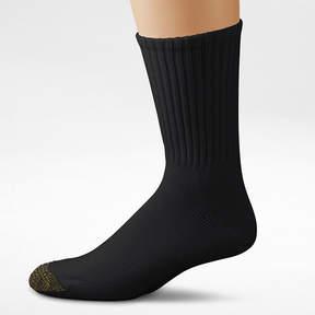 Gold Toe Men's 6-pk. Athletic Crew Socks - Extended Size