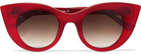 Thierry Lasry Hedony Cat-eye Acetate Sunglasses - Red