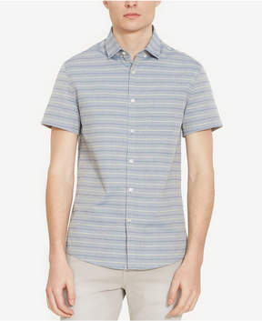 Kenneth Cole New York Men's Stitch-Striped Shirt
