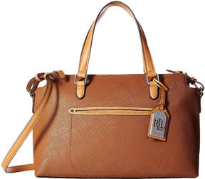 Lauren Ralph Lauren Lindley Addie Medium Leather Satchel