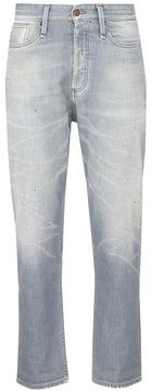 Denham Jeans Distressed cropped jeans