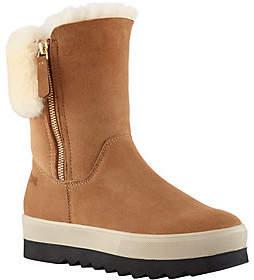 Cougar Waterproof Suede Shearling Boots - Vera