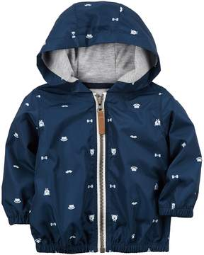 Carter's Baby Boy Teddy Hooded Jacket