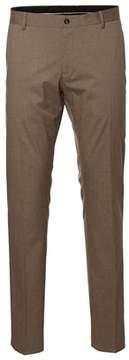 Selected Men's Beige Polyester Pants.