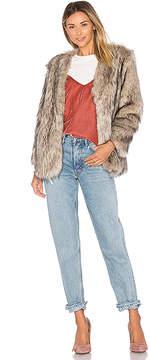Lovers + Friends Adora Faux Fur Jacket