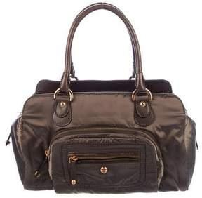 Tod's Metallic Satin Handle Bag