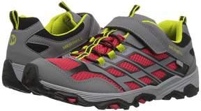 Merrell Moab FST Low A/C Waterproof Boys Shoes