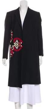 Dries Van Noten Embellished Jacquard Coat w/ Tags