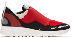 Maison Margiela Red Destroyed Sneakers