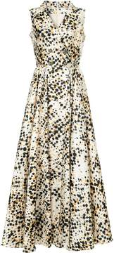 Alexis Mabille polka dot wrap dress