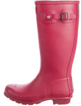 Hunter Girls' Knee-High Rain Boots