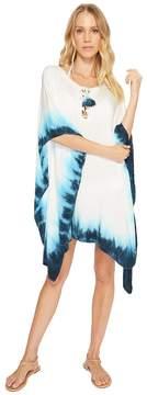 LaBlanca La Blanca St. Tropez Lace-Up Tunic Cover-Up Women's Swimwear