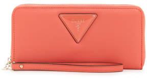 GUESS Kamryn Triangle Logo Zip-Around Wallet