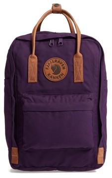 Fjallraven Kanken No. 2 15 Laptop Backpack - Purple