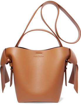 Acne Studios Musubi Mini Knotted Leather Shoulder Bag - Tan
