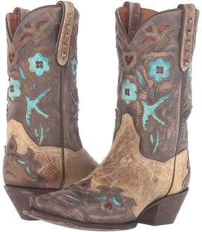 Dan Post Vintage Bluebird Cowboy Boots