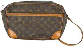 Louis Vuitton Trocadéro cloth handbag - BROWN - STYLE