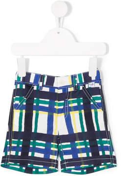 Il Gufo check shorts