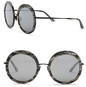 Cat Eye SUNDAY SOMEWHERE Abella 55mm Round Sunglasses