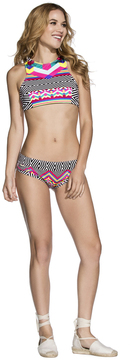 Agua Bendita 2017 Bendito Vertice Bikini Top AF50777G1T