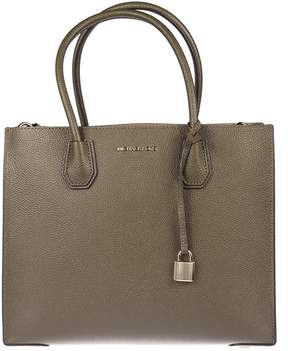Michael Kors Mercer Large Grained Tote Bag - OLIVE - STYLE