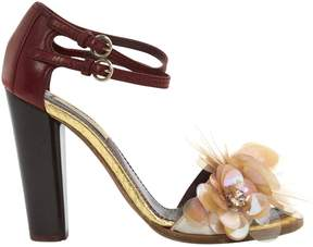 Nina Ricci Leather sandals