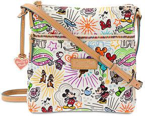 Disney Sketch Nylon Letter Carrier Bag by Dooney & Bourke