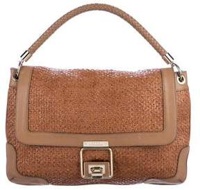 Anya Hindmarch Woven Leather Satchel