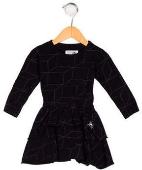 Nununu Girls' Printed Knit Dress