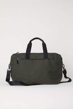 H&M Canvas Weekend Bag - Green