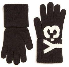 Y-3 Knit Logo Gloves