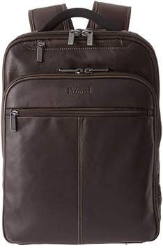 Kenneth Cole Reaction Back-Stage Access Colombian Leather Computer Backpack Backpack Bags