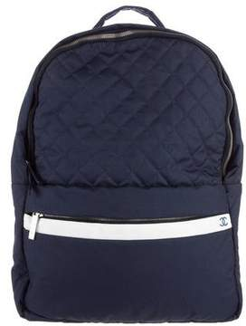 Chanel 2015 Quilted Nylon Coco Cocoon Backpack
