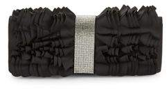 Adrianna Papell Ruffled Envelope Clutch