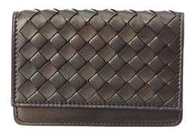 Bottega Veneta Intrecciato Nappa Leather Card Case.