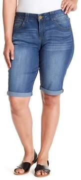 Democracy Skimmer Denim Shorts (Plus Size)