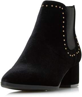 Head Over Heels *Black Penly Ankle Boot