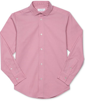 Calvin Klein Textured Shirt, Big Boys (8-20)