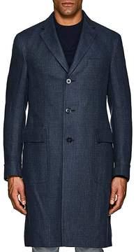 Ralph Lauren Purple Label Men's Ridley Linen Overcoat