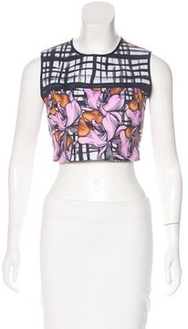 Clover Canyon Brushstroke Print Crop Top w/ Tags