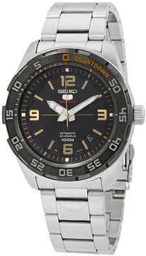 Seiko 5 Automatic Black Dial Men's Watch