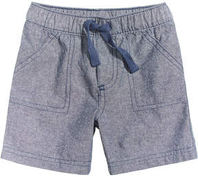 First Impressions Chambray Cotton Shorts, Baby Boys (0-24 months), Created for Macy's