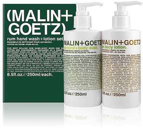 Malin+Goetz Women's Rum Hand Wash & Lotion Set