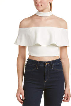 Do & Be DO+BE Do+Be Off-Shoulder Crop Top